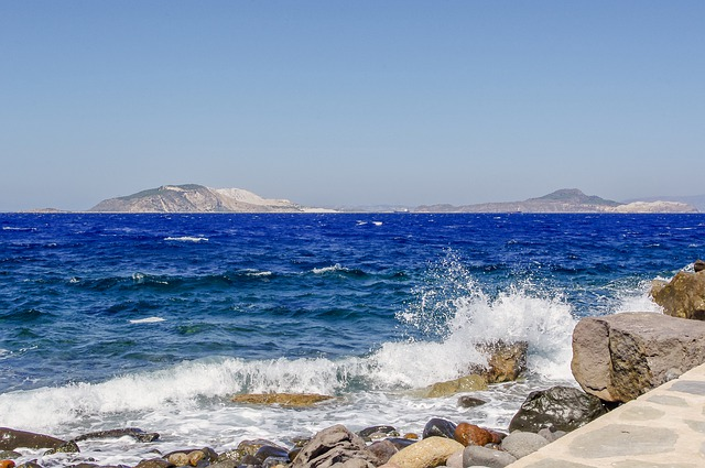 kraj moře