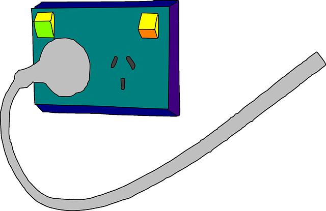 zásuvka s vypínači