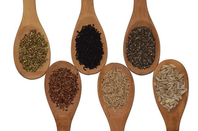 vařečky se semeny