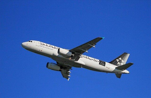 letadlo při startu